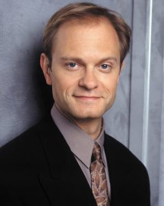 David Hyde Pierce as Nile Crane from Frasier