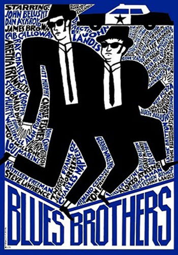 The Blues Brothers (1980) Polish movie poster