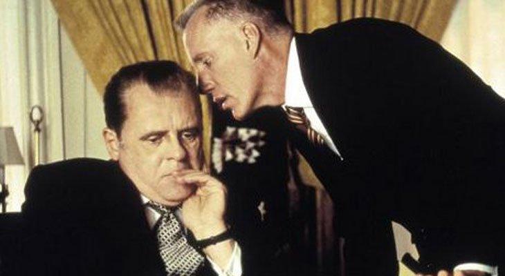 Anthony Hopkins as Nixon