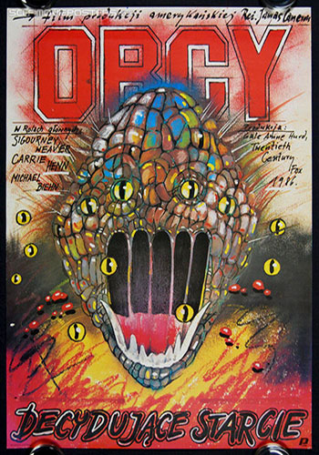 Aliens (1986) Polish Movie poster