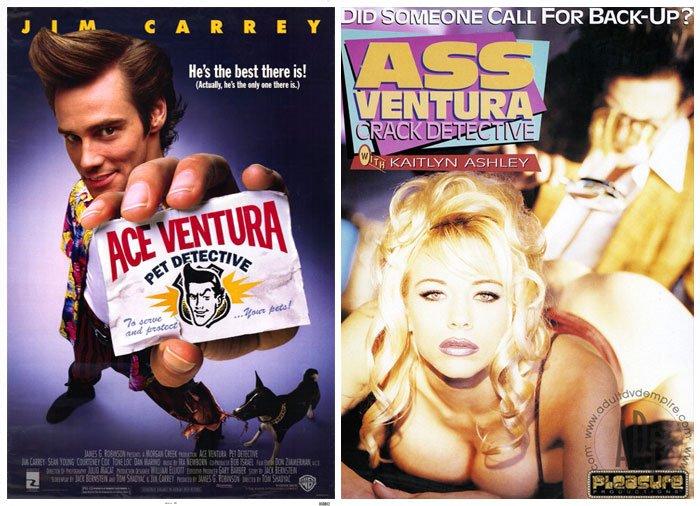 'Ace Ventura: Pet Detective' (1994) vs 'Ass Ventura: Crack Detective' (1995)