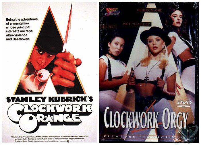 Clockwork Orange (1971) vs Clockwork Orgy (1995)