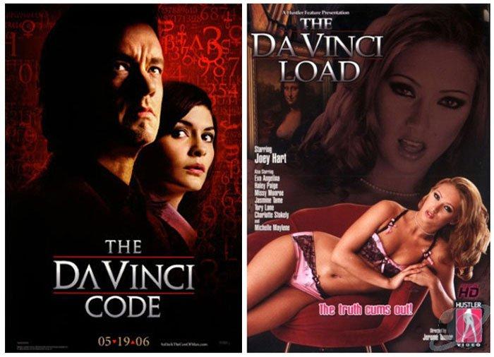 The Da Vinci Code (2006) vs  The Da Vinci Load (2006)