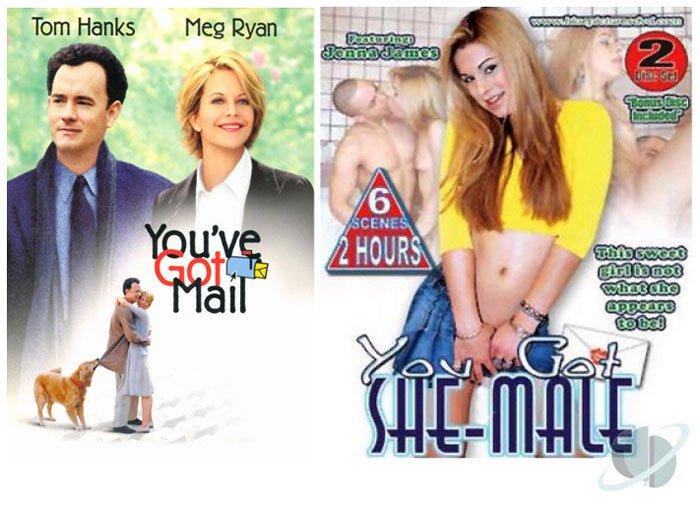 You've Got Mail (1998) vs You Got She-Male (2004)