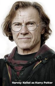 Harvey Keitel as Harry Potter