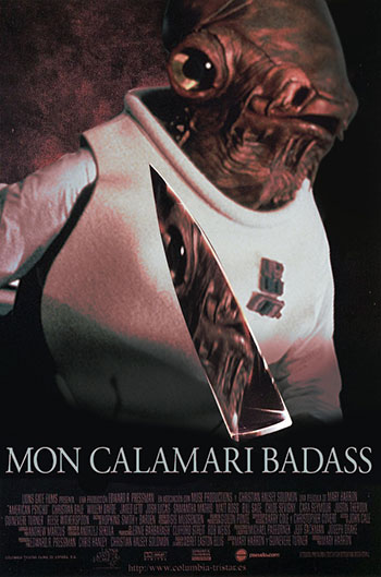 MON CALAMARI BADASS - Star Wars spin-off movie