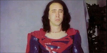 Nic Cage in Superman Lives