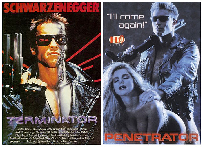 The Terminator (1984) vs The Penetrator (1991)