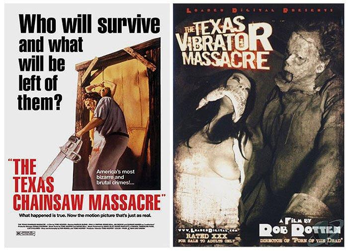 'The Texas Chainsaw Massacre' (1974) vs 'The Texas Vibrator Massacre' (2008)