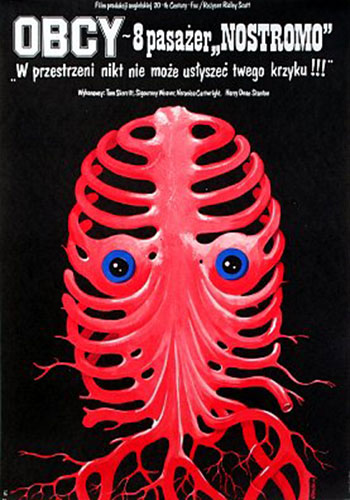Alien (1979) Polish movie poster