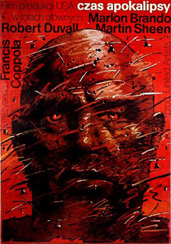 Apocalypse Now Polish movie poster