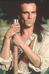 Daniel Day-Lewis in The Last of the Mohicans