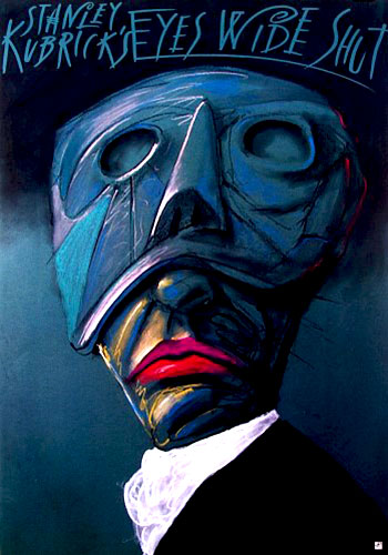 Eyes Wide Shut (1999) Polish movie poster
