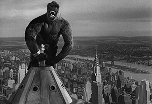 King Kong (1933) on the Empire State Building