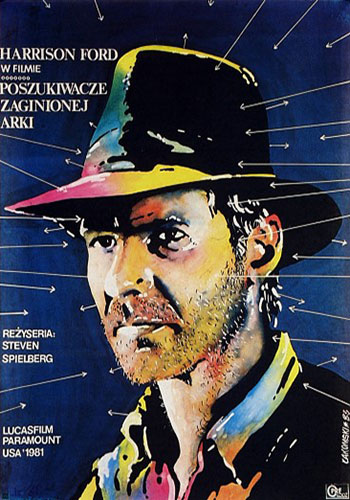 Raiders of the Lost Ark Polish movie poster