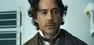 Robert Downy Jr as Sherlock