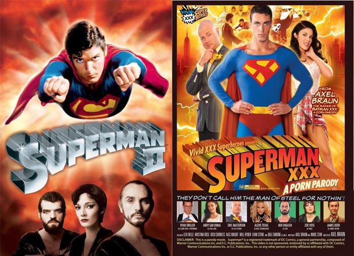 Superman 2 (1980) vs Superman XXX (2011)