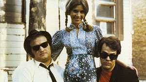 The Blues Brothers with Co-star Carrie Fisher