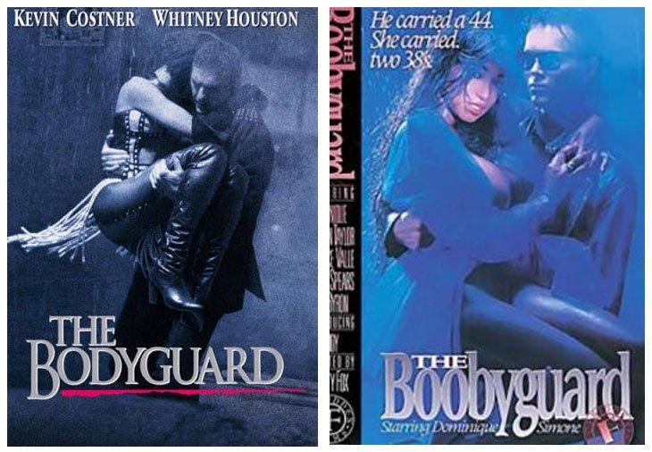 The Bodyguard (1992) vs The Boobyguard (1993)