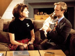 Niles and Daphne from tv's Frasier