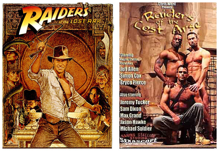 Raiders of the Lost Ark (1981) vs Raiders of the Lost Arse (2010)