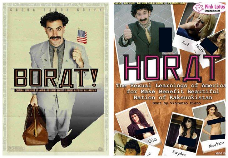 Borat (2006) vs Horat (2007)