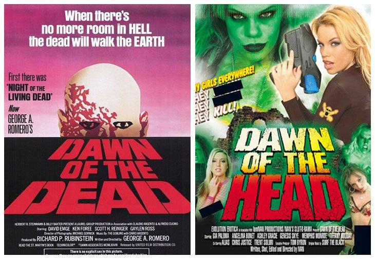 Dawn of the Dead (1978) vs Dawn of the Head (2005)