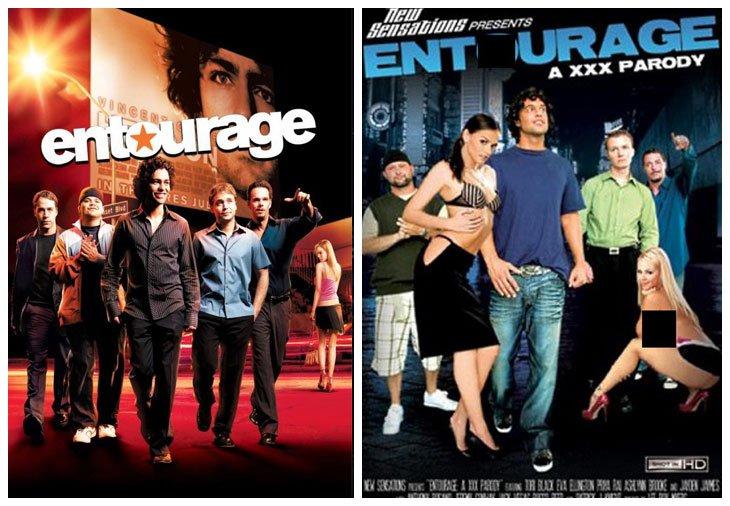 Entourage (2004 - 2011) vs Entourage: A XXX Parody (2009)