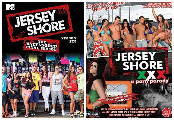 Jersey Shore (2009 - 2012) vs Jersey Shore: A XXX Parody (2010)