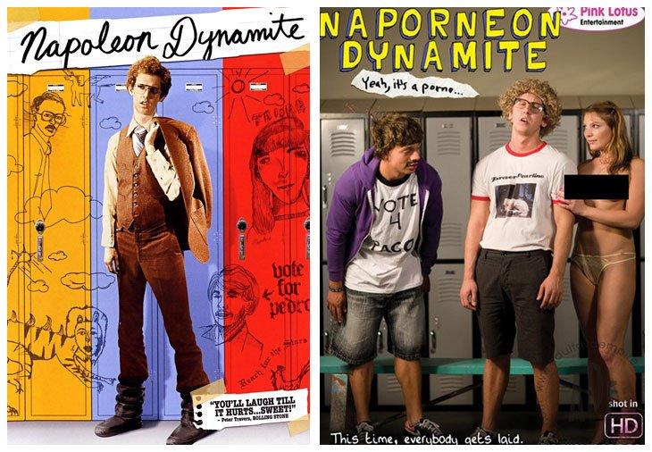 Napoleon Dynamite (2004) vs Naporneon Dynamite (2010)