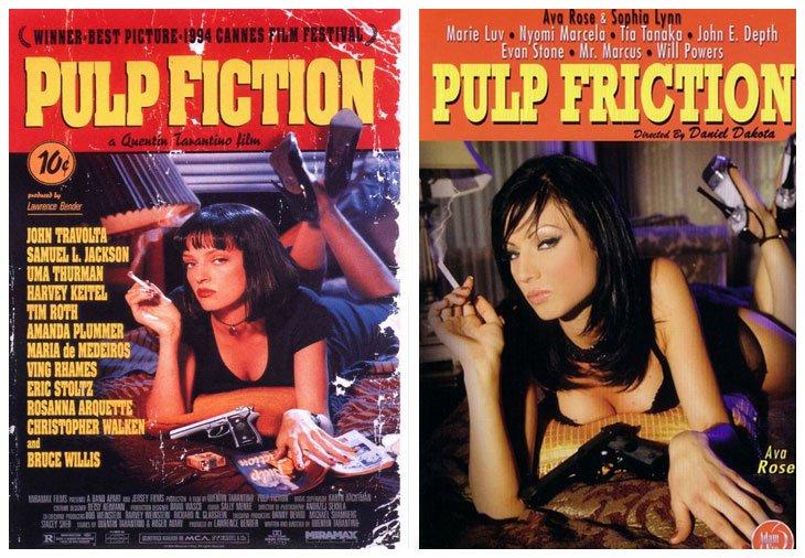 Pulp Fiction (1994) vs Pulp Friction (1994)