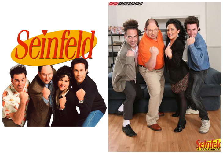 Seinfeld (1989 - 1998) vs Seinfeld: A XXX Parody (2009)
