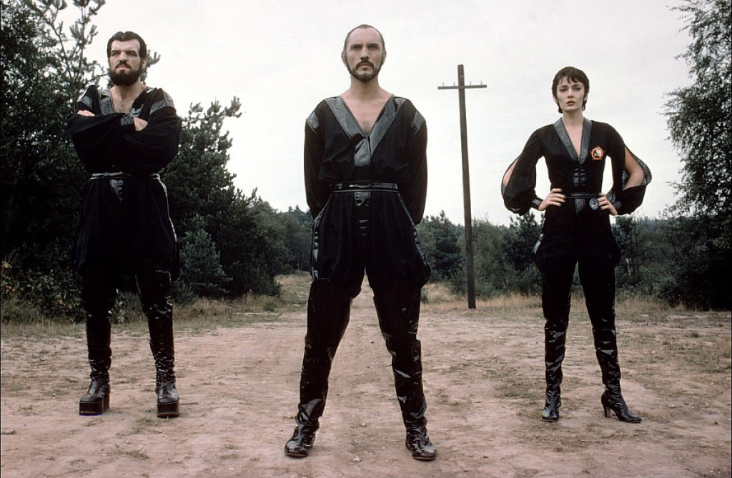 General Zod and the gang in Superman 2