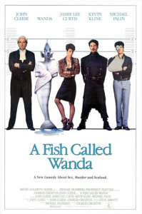 A Fish Called Wanda (1988) movie poster