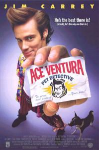 Ace Ventura: Pet Detective movie poster