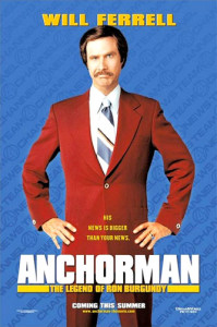 Anchorman: The Legend of Ron Burgundy (2004) movie poster