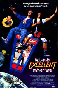 Bill And Ted's Excellent Adventure (1989) movie poster