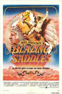 Blazing Saddles (1974) movie poster