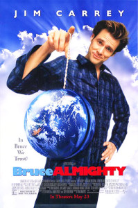 Bruce Almighty (2003) movie poster