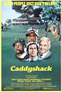 Caddyshack (1980) movie poster