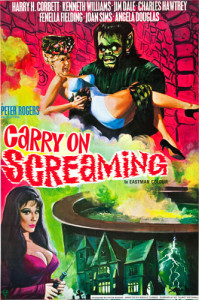 Carry On Screaming! (1966) movie poster