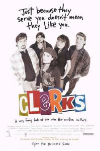 Clerks (1994) movie poster