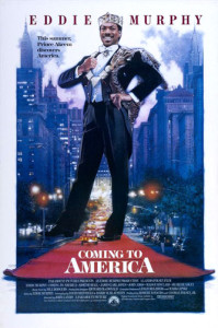 Coming to America (1988) movie poster