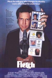 Fletch 1985 movie poster