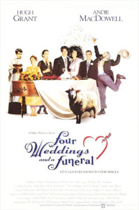 Four Weddings and a Funeral (1994) movie poster