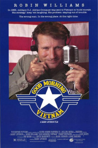 Good Morning, Vietnam (1987) poster