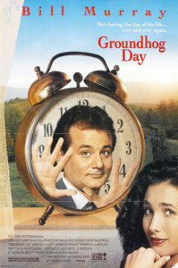 Groundhog Day (1993) movie poster