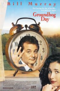 Groundhog Day (1993) movie poster