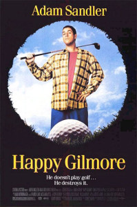 Happy Gilmore (1996) poster