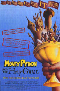 Monty Python and the Holy Grail (1975) movie poster
